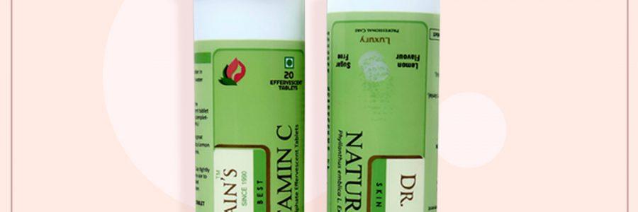 Dr Smita Jain's Natural Vitamin C 1000mg – 20 Effervescent Tablets